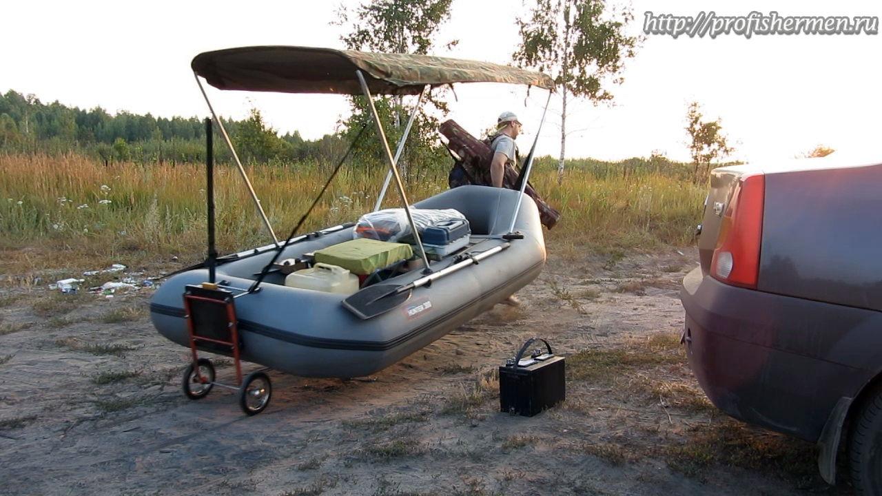 Колеса для пвх лодки своими руками
