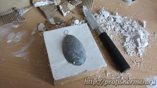 Как сделать грузило из свинца фото 783