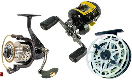 Fishing reel as a gift to a fisherman
