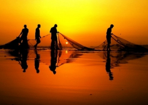 The world day of fishery. Holiday on 27 June